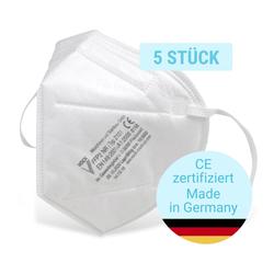 Fackelmann FFP2 Atemschutzmaske, 5 Stück