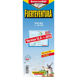 Fuerteventura 1:140 000