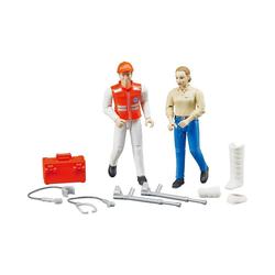 Bruder® Spielzeug-Auto BRUDER 62710 bworld Rettungsdienst Figurenset