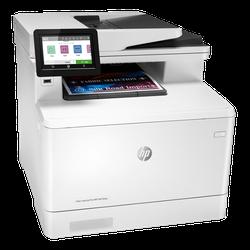 HP Color LaserJet Pro MFP M479fdn - 3 Jahre Vor-Ort-Garantie gratis, 30 € Gutschein, HP Geld-Zurück-Garantie - HP Gold Partner