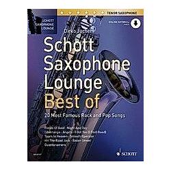 Schott Saxophone Lounge - Best of  Tenor-Saxophon - Buch