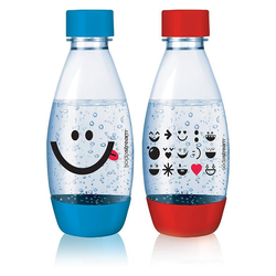 SodaStream Kindertrinkflasche PET KIDS Flasche Duopack 0,5 Liter