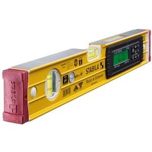 Elektronik-Wasserwaage TECH 196 electronic IP 65, 40 cm, mit 2 Digital-Displays und Wasserwaagen-Tas