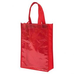 Kunststofftaschen mit Klarsichthülle, DIN A4 - rot - DIN A4, Rot