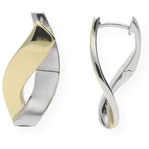 JuwelmaLux Paar Creolen Creolen Silber Ohrringe Creolen 22,2 mm (2-tlg), Damen Creolen Silber 925/000, inkl. Schmuckschachtel
