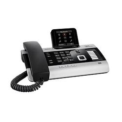 Gigaset DX800A all in one Telefon mit Anrufbeantworter titanium