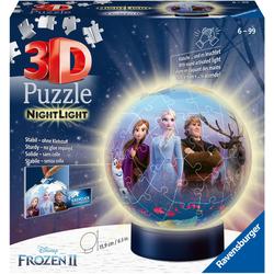 Ravensburger Puzzleball Disney Frozen II- Nightlight bunt Kinder Ab 6-8 Jahren Altersempfehlung Puzzles