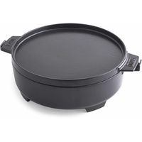 WEBER 2in1 Dutch Oven Pfanne 2 in 1