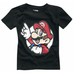 Nintendo T-Shirt Nintendo - It's A Me Mario Kids Boys T-shirt 86/98/146/158 Neu Top 146