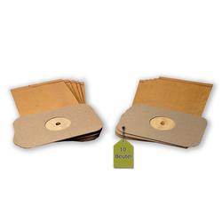 eVendix Staubsaugerbeutel Staubsaugerbeutel kompatibel mit Electrolux Z 330, Z 335, 10 Staubbeutel ähnlich wie Original Electrolux Staubsaugerbeutel E 3, E 3 N, passend für Electrolux