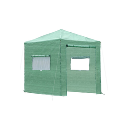 Outsunny Foliengewächshaus Gewächshaus mit Aufrollbarer Tür und Fenster