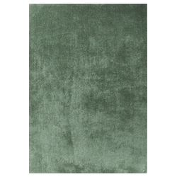 Hochflor Teppich - Soft Uni (Light Green; 140 x 200 cm)