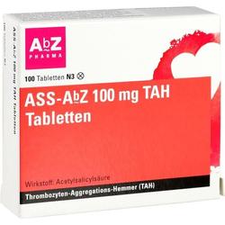ASS-AbZ 100 mg TAH Tabletten