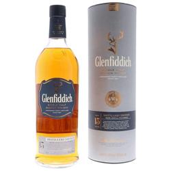 Glenfiddich 15 YO Distillers Edition Scotch Whisky 1L (51% Vol.)