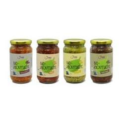 JUNES Bio-Jackfrucht- Gerichte 4 Sorten Inhalt gesamt 1.360g
