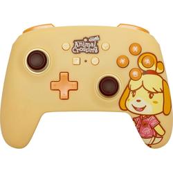 PowerA Nintendo Switch Controller Isabelle Kabelgeunden Gaming-Controller