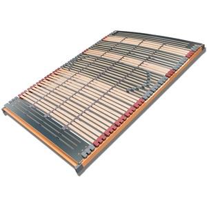 FMP Matratzenmanufaktur 7 Zonen Lattenrost starr / verstellbar 44 Leisten Rhodos 140x200 cm