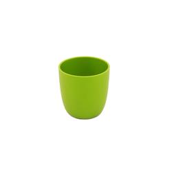 ajaa! Kindergeschirr-Set Bio Becher 100% natürlich (1-tlg), Zuckerrohr, 100% natürlich grün