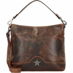 Billy the Kid Ranger Handtasche Leder 34 cm brown