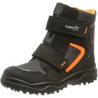 Superfit Kinder-Winter-Boots in schwarz/orange