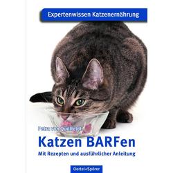Katzen BARFen als Buch von Petra von Quillfeldt