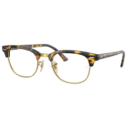RAY BAN Brille CLUBMASTER RX5154 gelb
