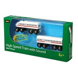BRIO® Spielzeugeisenbahn-Erweiterung Brio 33418 Schnellzug mit Sound, Holz