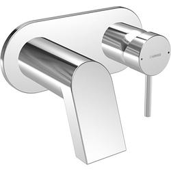 Hansa Waschtischarmatur Hansastela 57852171 Ausladung 240 mm, Wand-Armatur