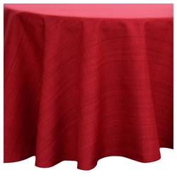 matches21 HOME & HOBBY Tischdecke Outdoor Tischdecken Gartentischdecken rund wetterfest 145x145 cm (1-tlg) rot