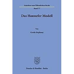 Das Honnefer Modell.. Gerda Stephany  - Buch