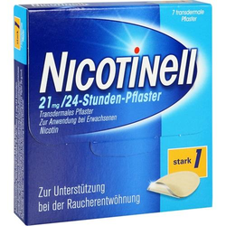NICOTINELL 21 mg/24-Stunden-Pflaster 52,5mg 7 St