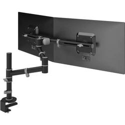 Monitorarm viewgo Schreibtisch 133 für 2 Monitore schwarz