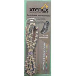 XTENEX Dress Schnürsenkel 50 cm beige