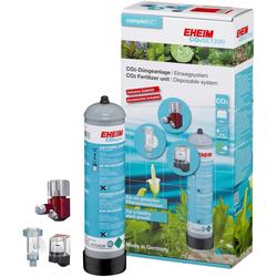 EHEIM Aquariumpflege SET200, (Set), CO²-Düngeanlage mit 500g Flasche, Einweg