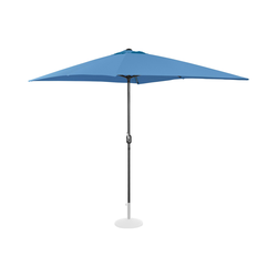 Uniprodo Sonnenschirm groß - blau - rechteckig - 200 x 300 cm UNI_UMBRELLA_SQ2030BL