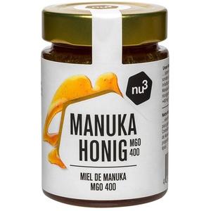nu3 Manuka-Honig MGO 400 125 g Creme