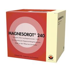 MAGNESOROT 240 Beutel 50 St
