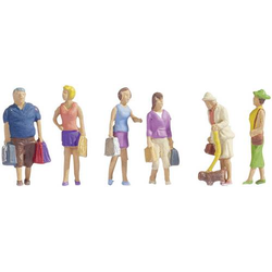 NOCH 15518 H0 Figuren beim Einkaufen