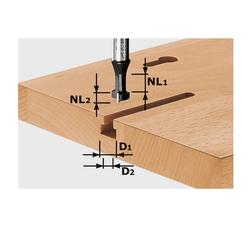 Festool T-Nutfräser HM D10,5/NL13 S8mm 491035 Fräser Oberfräse
