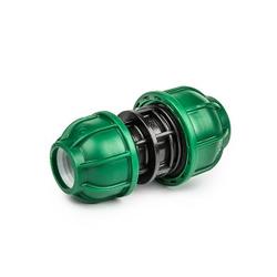 Kupplung reduziert Reduzierstück Verschraubung für PE-Rohr 40/25mm Bradas 0607
