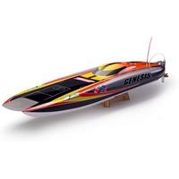AMEWI Speedboot Genesis Blue White Flame RTR 26049