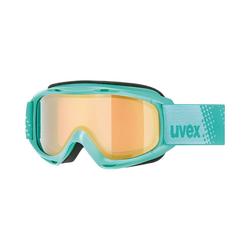 Uvex Skibrille Skibrille slider FM mint dl/gold clear-rose grün