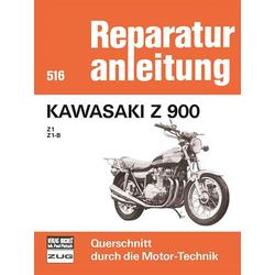 Kawasaki Z 900  - Z1 / Z1B als Buch von