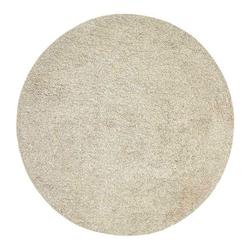 Hochflor-Teppich Nora - Hochflor Wollteppich, Rund, Handgetuftet, Fable & Loom, rund, Höhe 30 mm, Hochflor, handgetuftet, Wolle grau Ø 90 cm x 90 cm x 90 cm x 30 mm