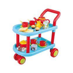 Playgo Spielgeschirr Tea Time, Teewagen - 23 tlg. bunt