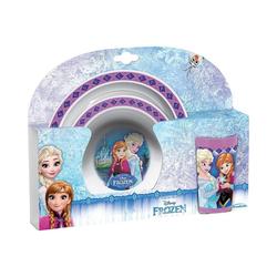 """Disney Frozen Kindergeschirr-Set Kindergeschirr """"Frozen Beloved"""" 3tlg. rosa"""