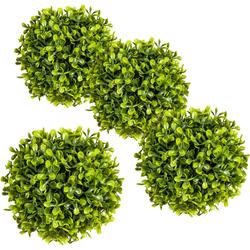 Kunstpflanze Buchsbaumkugel Buchsbaum, Creativ green, Höhe 15 cm