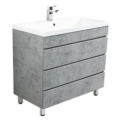 POSSEIK Waschtischunterschrank FELINI 90 beton