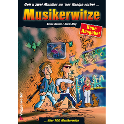 Musikerwitze als Buch von Bruno Kassel/ Carlo May
