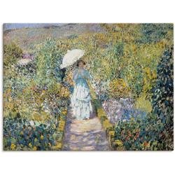 Artland Wandbild Der Gartenweg., Garten (1 Stück) 80 cm x 60 cm